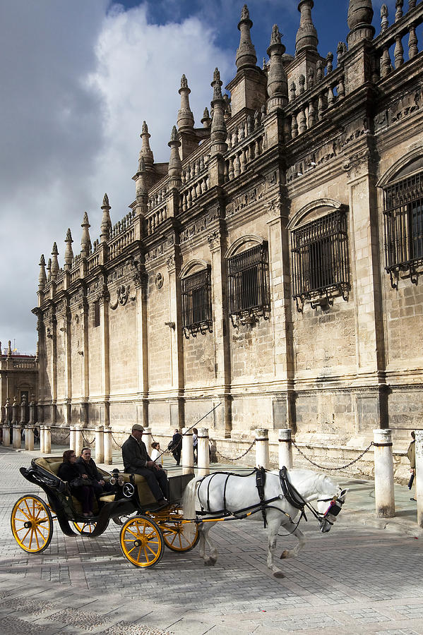 Ancient Photograph - Sevilla by Andre Goncalves
