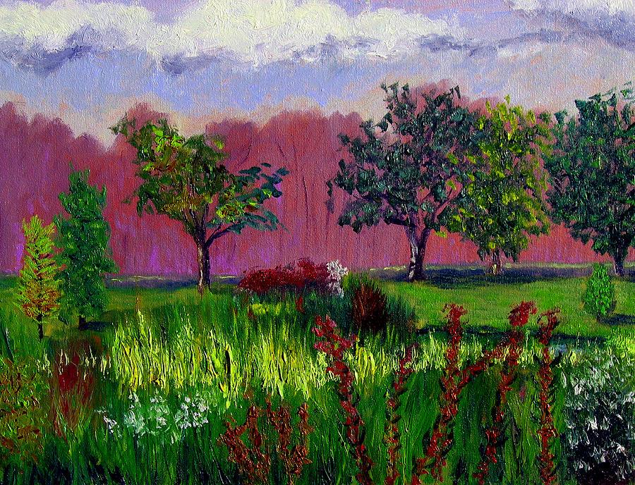 Plein Air Painting - Sewp 9 24 by Stan Hamilton