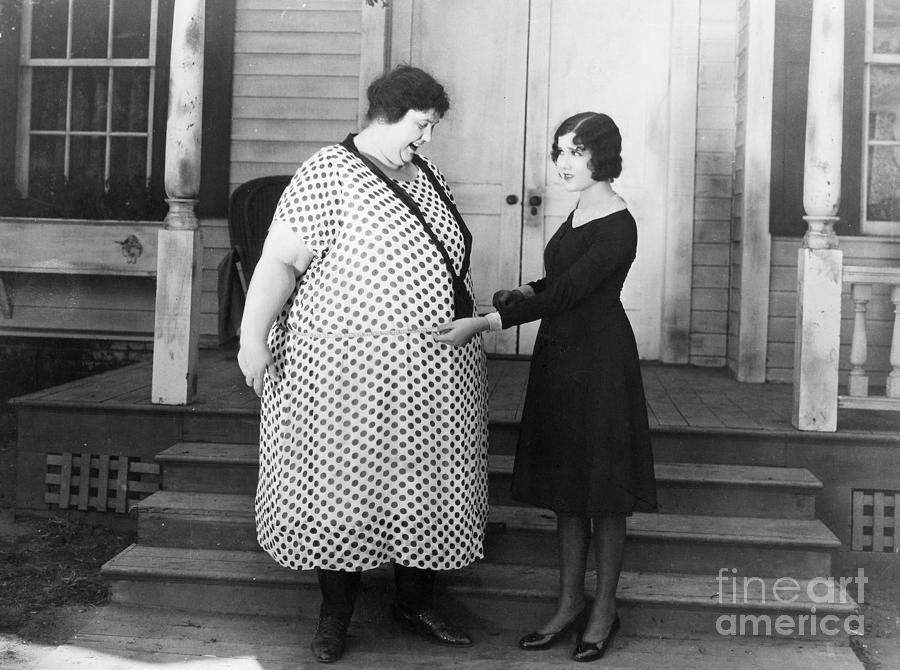 1920s Photograph - Silent Still: Weight by Granger