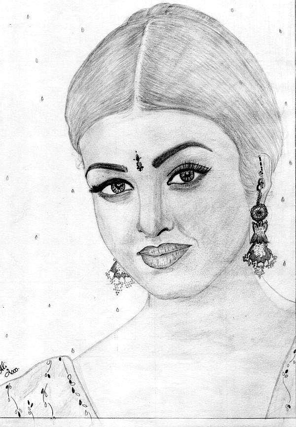 Sketch Drawing by Bobby Dar