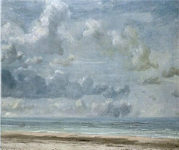 Sky And Sea Mixed Media by Brenda Garacci