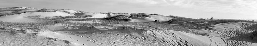 Sleeping Photograph - Sleeping Bear Dunes Panorama by Twenty Two North Photography