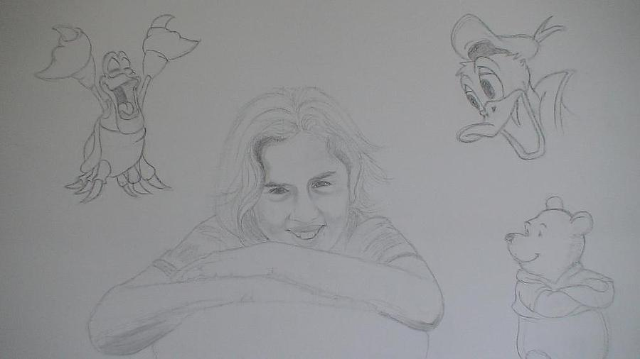 People Drawing - Some Other Work by Alex Klein