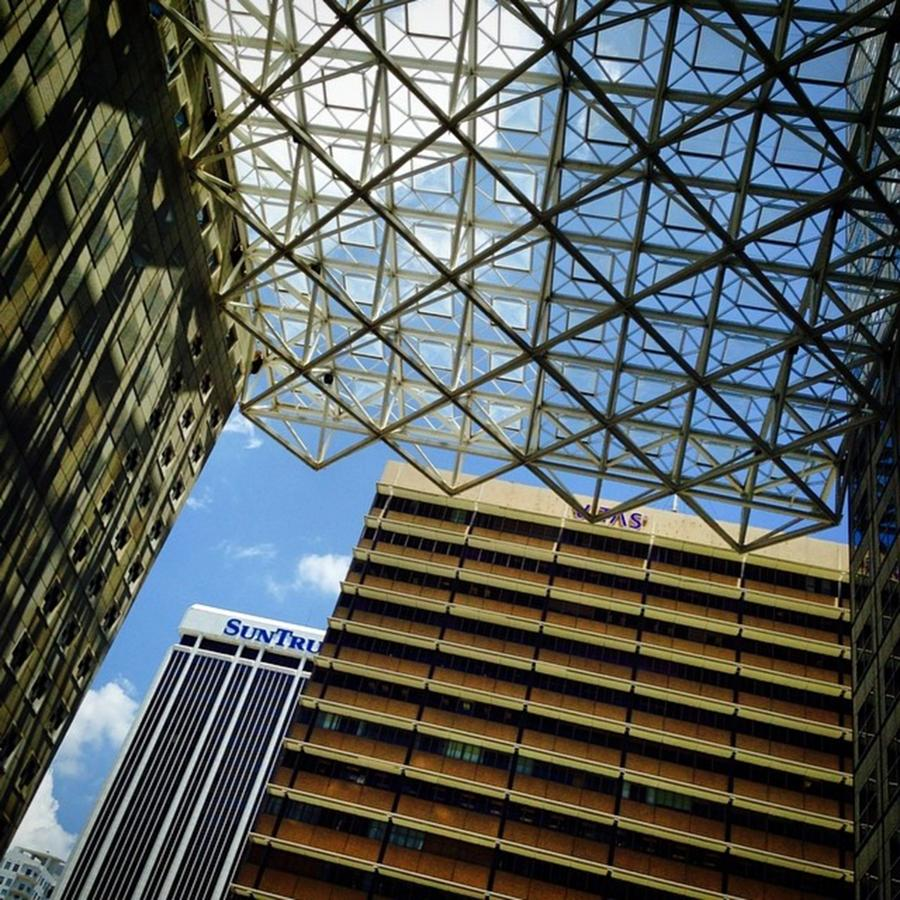 Miami Photograph - South East Financial Center, Downtown by Juan Silva