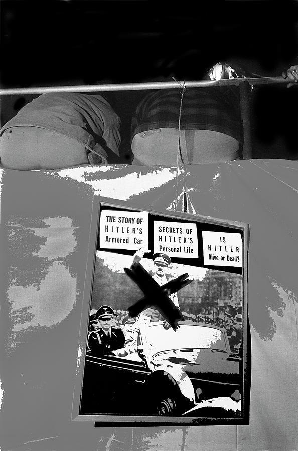 Spectators Circus Tent Auction Adolf Hitlers 1941 Mercedes Scottsdale Arizona 1973-2009 Photograph by David Lee Guss