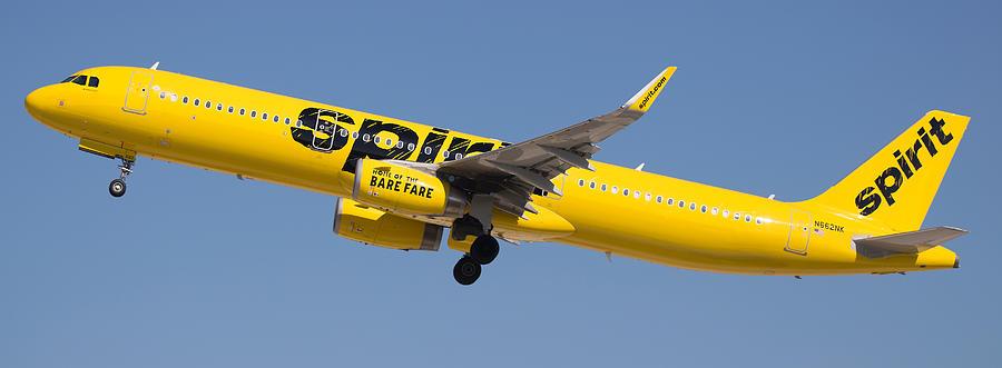 Spirit Airline Photograph by Dart Humeston