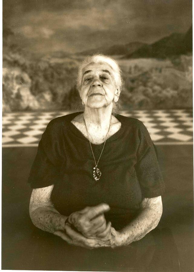 Female Photograph - Spiritual Faces by Andras Szirtes