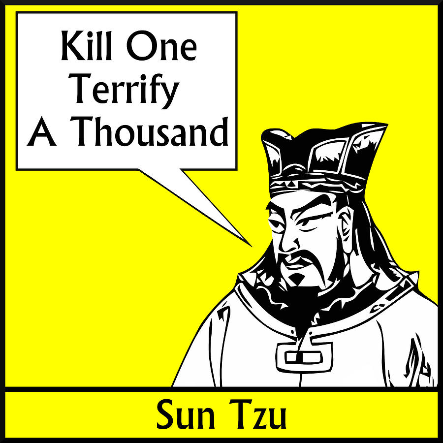 Sun Tzu Digital Art - Sun Tzu by War Is Hell Store