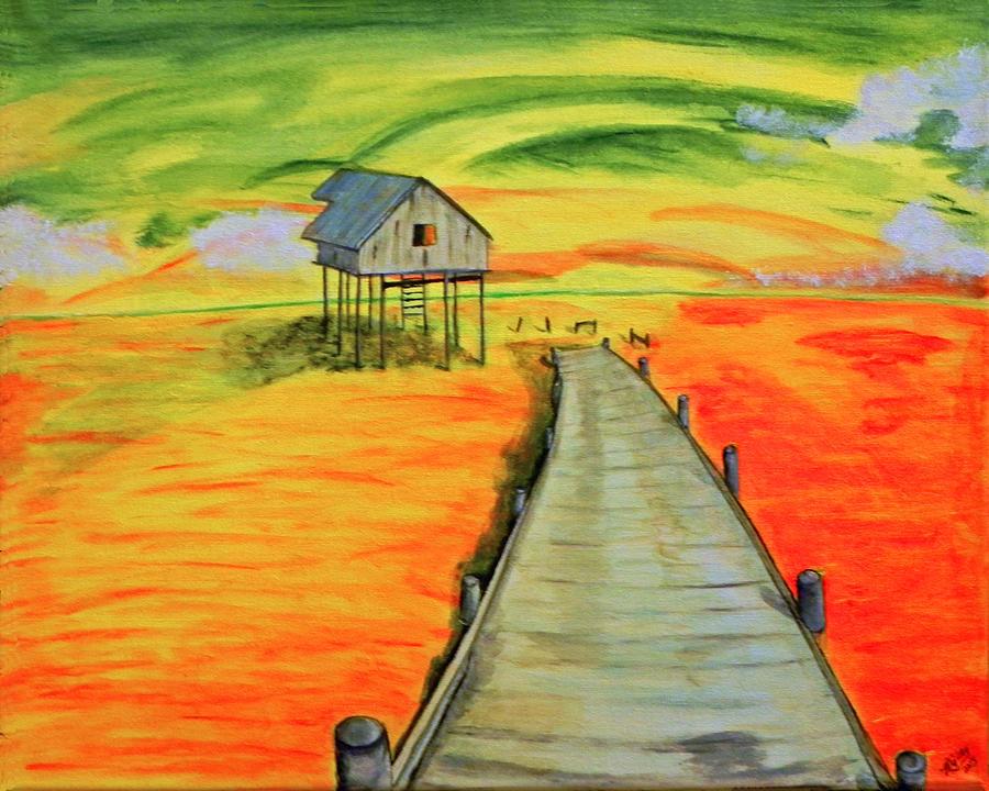 Nature Painting - Sunrise /sunset by MGilroy