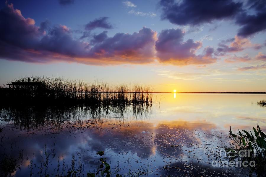 Lake Photograph - Sunset Reflections 2 by Rick Mann