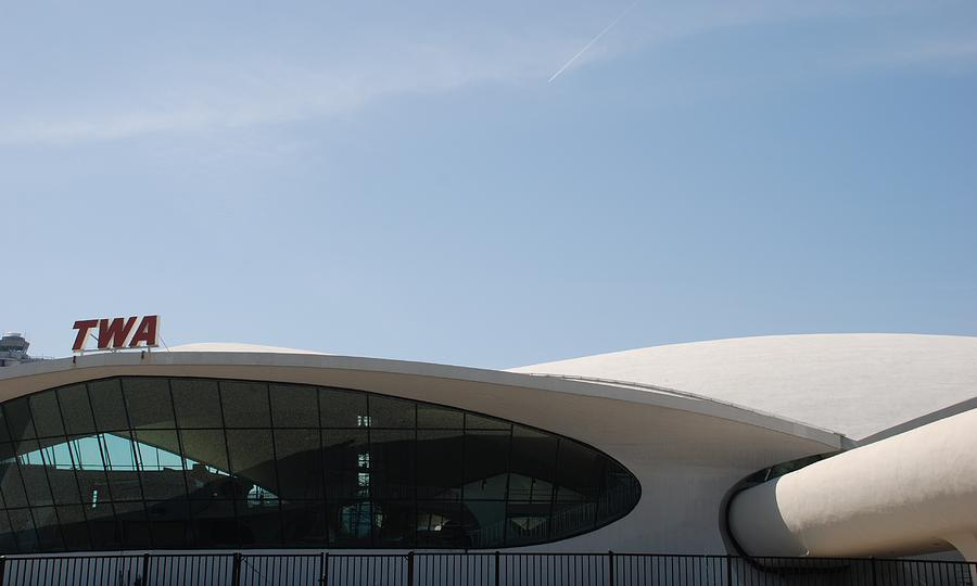 Architecture Photograph - T W A Terminal by Rob Hans