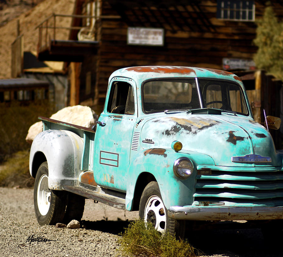 Ghost Town Photograph - Techatticup Mine Ghost Town Nv by Marti Green