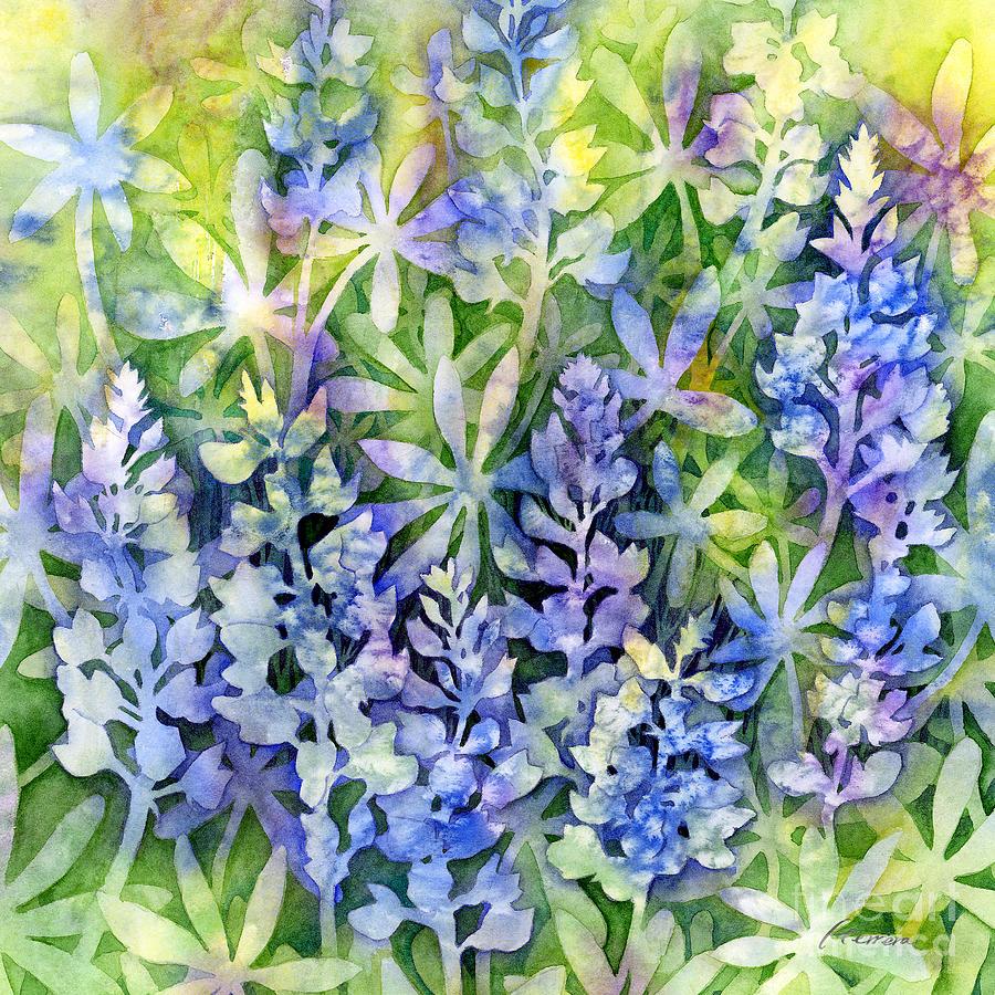 Texas Painting - Texas Blues  by Hailey E Herrera