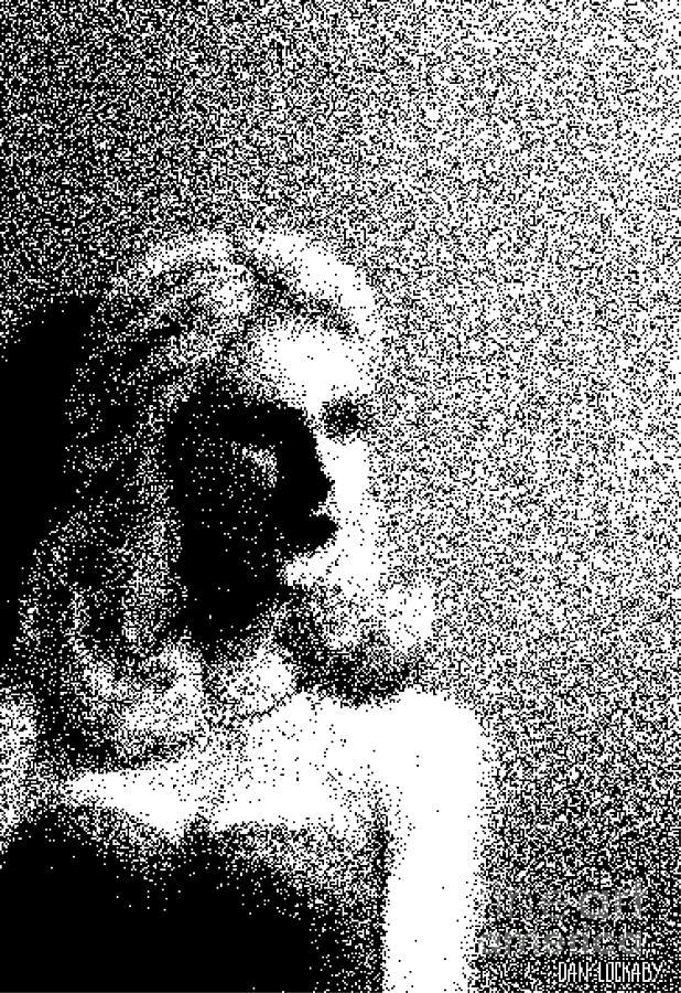 Woman Digital Art - The Actress  by Dan Lockaby