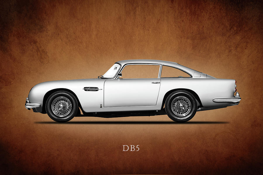 Aston Martin Db5 Photograph - The Aston Martin Db5 by Mark Rogan
