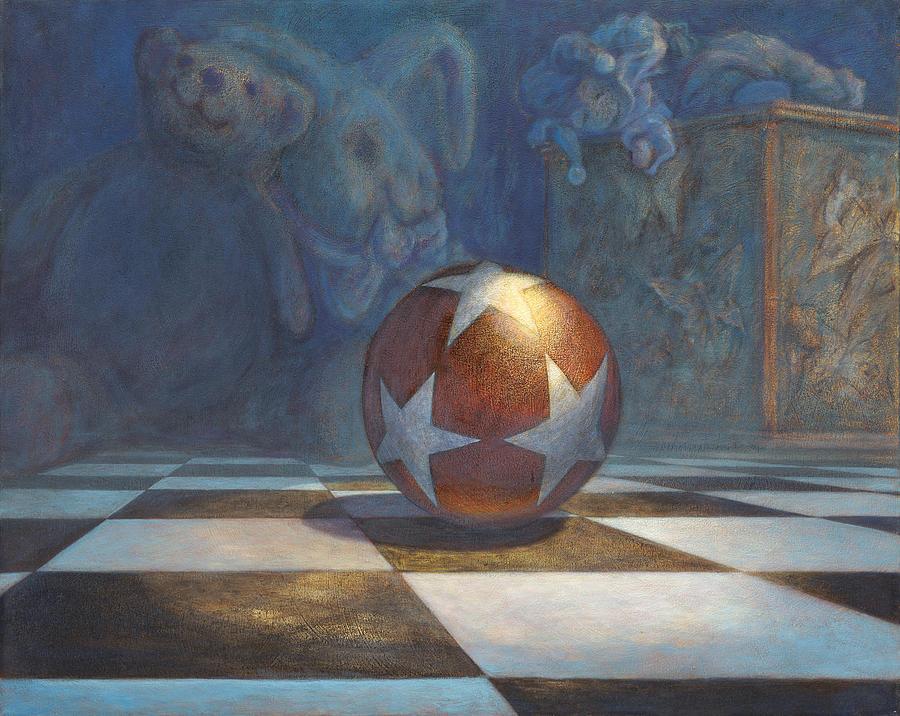 Fantasy Painting - The Ball by Leonard Filgate