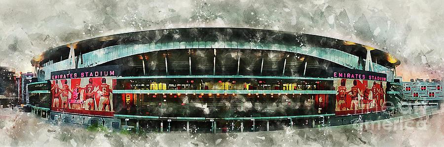 The Emirates Stadium Digital Art