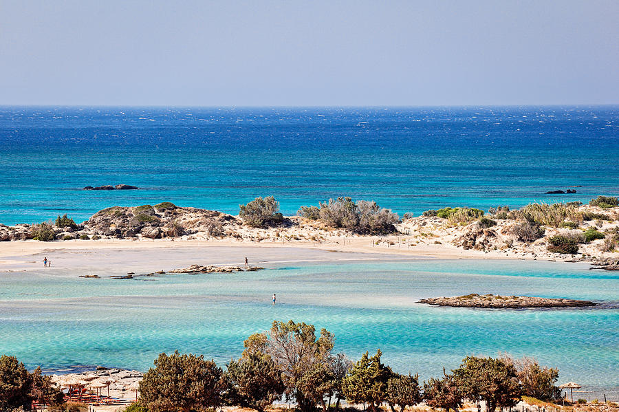 The Exotic Elafonissos In Crete - Greece Photograph