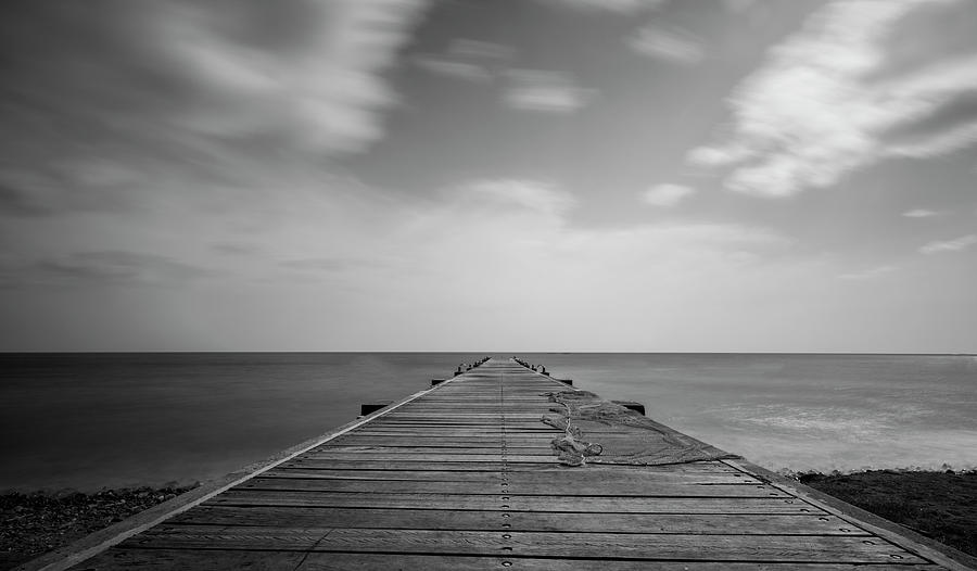 The Fishing Pier Photograph