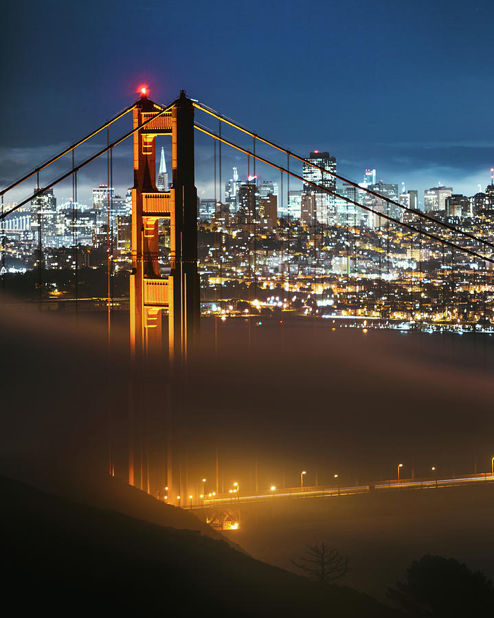The Golden Gate Bridge by Lee Harland