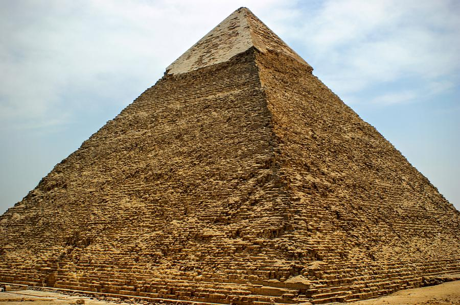 the great pyramid of giza photograph by clay kirby