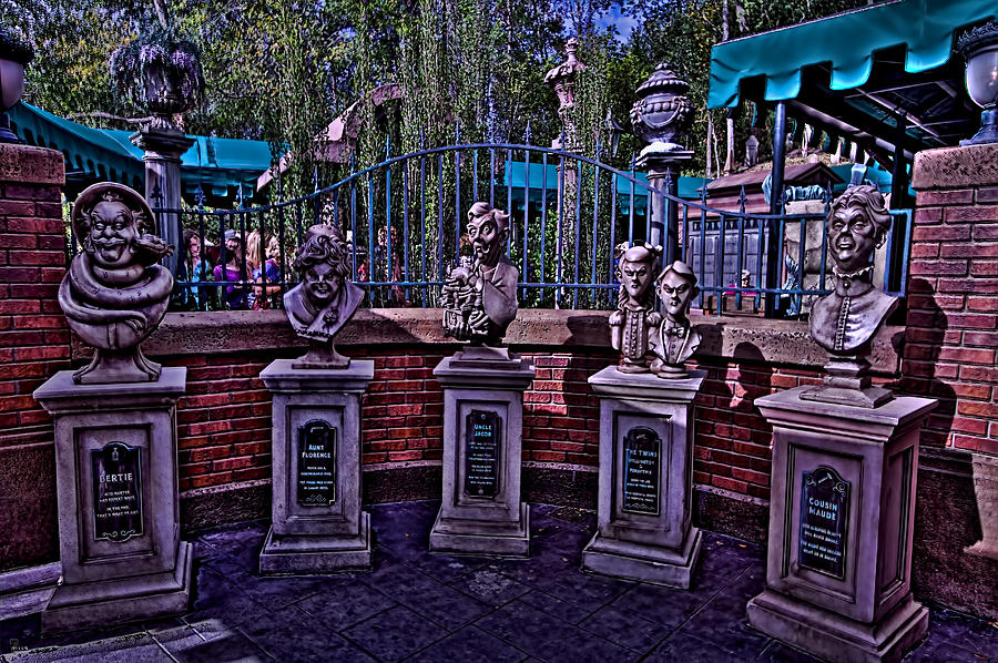 The Haunted Mansion Hdr Photograph By Jason Blalock Magnificent Haunted Mansion Throw Blanket