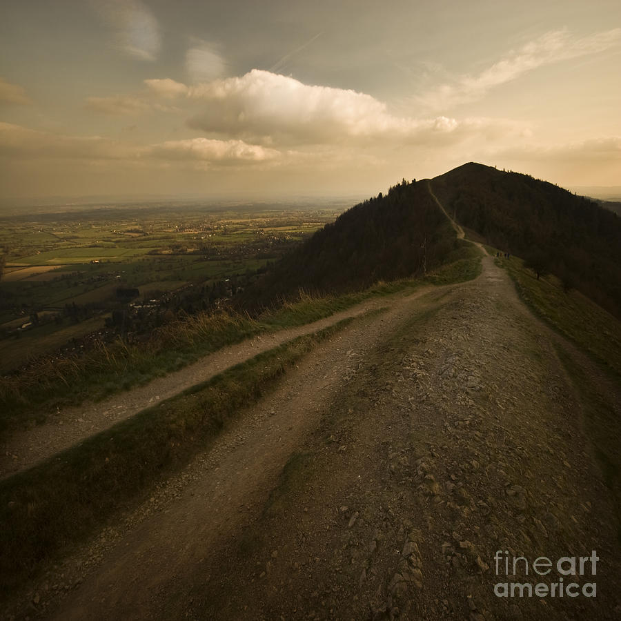 Malvern Hills Photograph - The Malvern Hills by Angel Ciesniarska