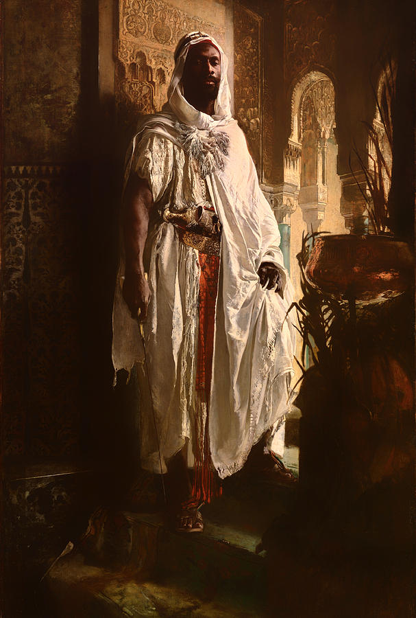 Painting Painting - The Moorish Chief by Mountain Dreams