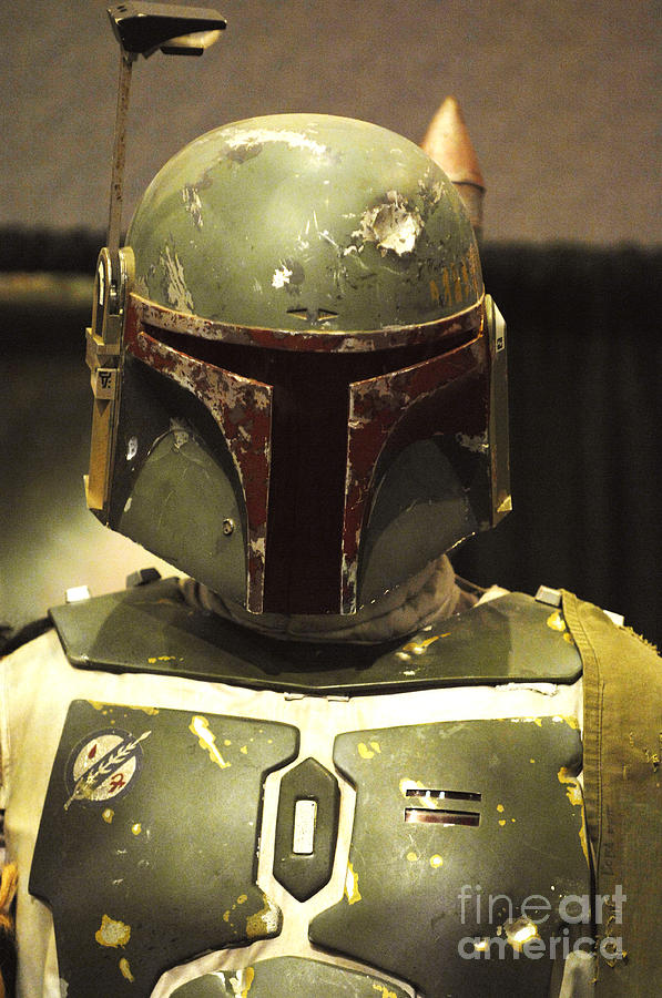 Boba Fett Photograph - The Real Boba Fett by Micah May