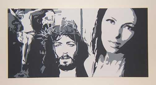 Jesus Painting - Things to Come by Michael James  Toomy