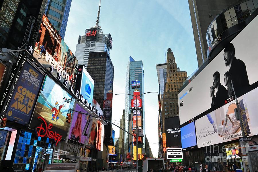 Destination Photograph - Times Square New York City by Douglas Sacha
