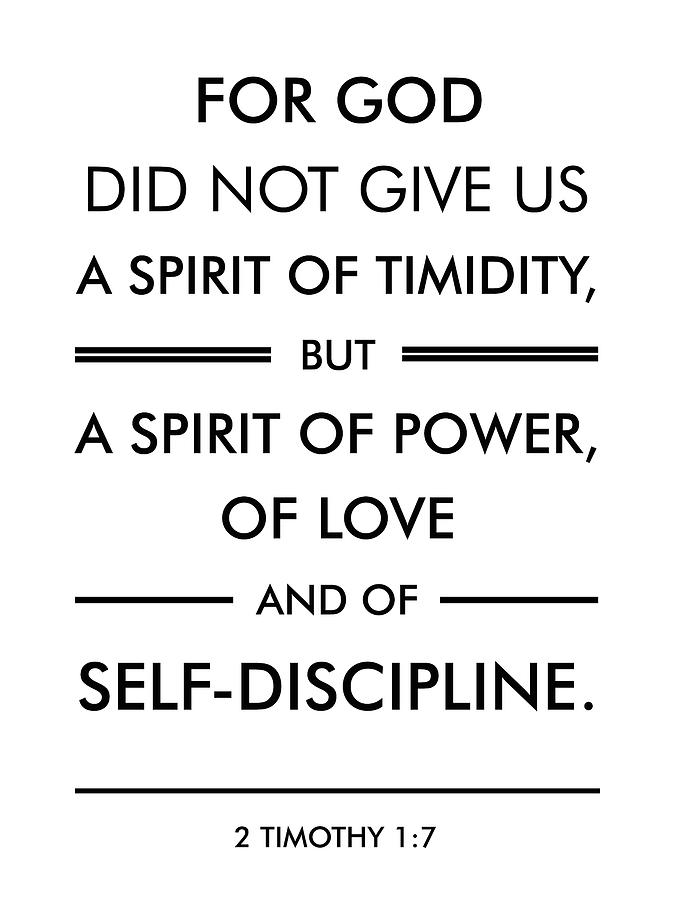 2 Timothy 1 7