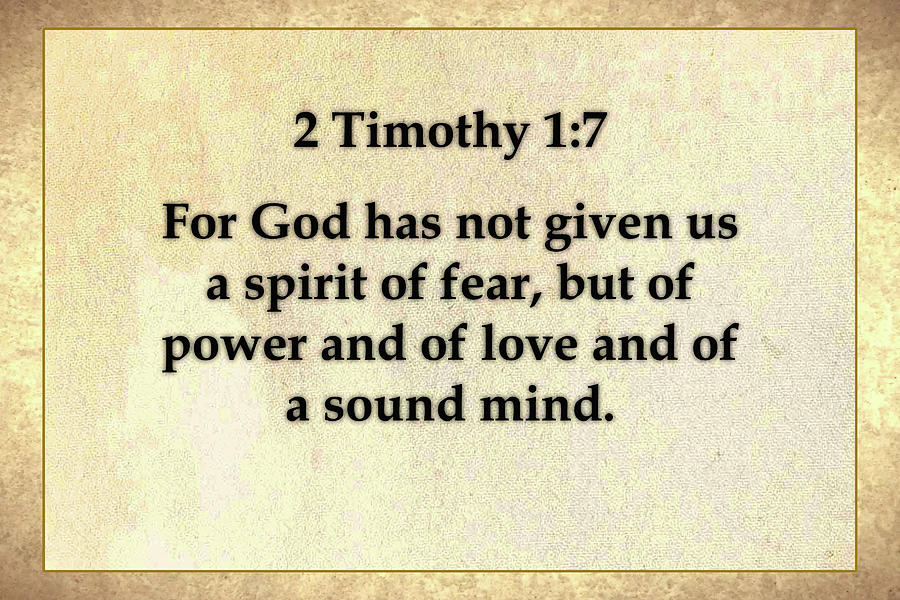 2 Timothy 1 And 7