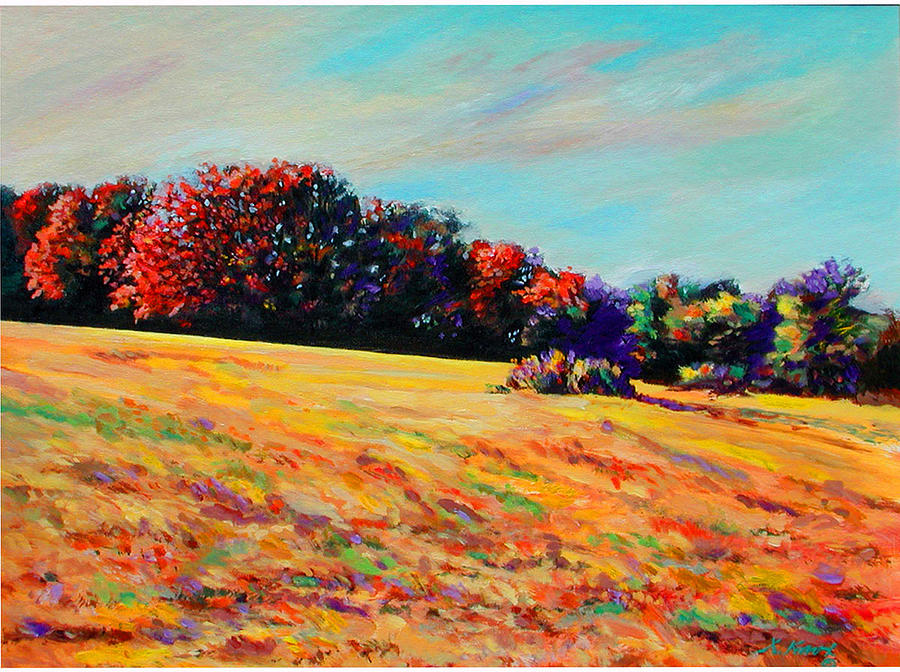 Landscape Painting - Tomorrow Afternoon by Richard Knox