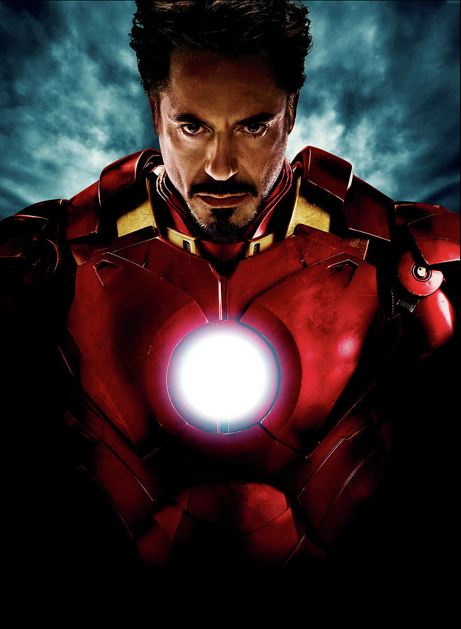 Tony Stark Iron Man Digital Art by Geek N Rock  |Tony Stark Iron Man 2 Hair