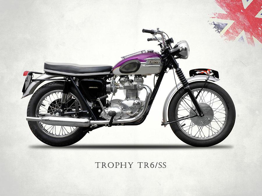 Triumph Photograph - Triumph Trophy by Mark Rogan