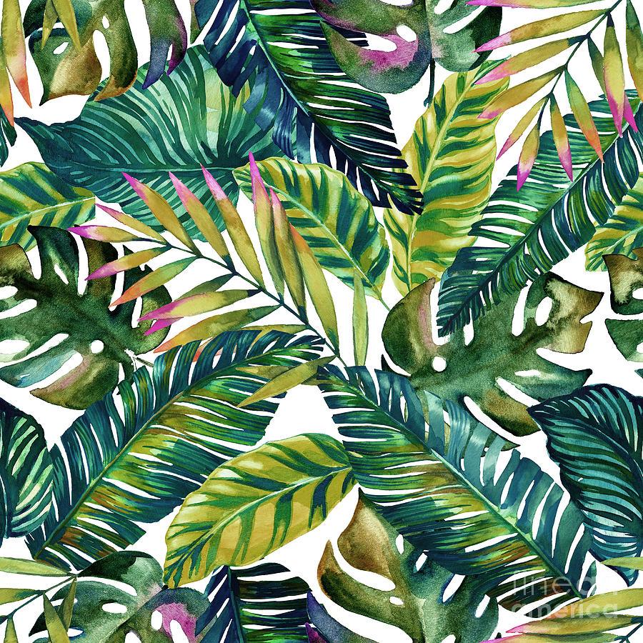 Summer Digital Art - Tropical  by Mark Ashkenazi