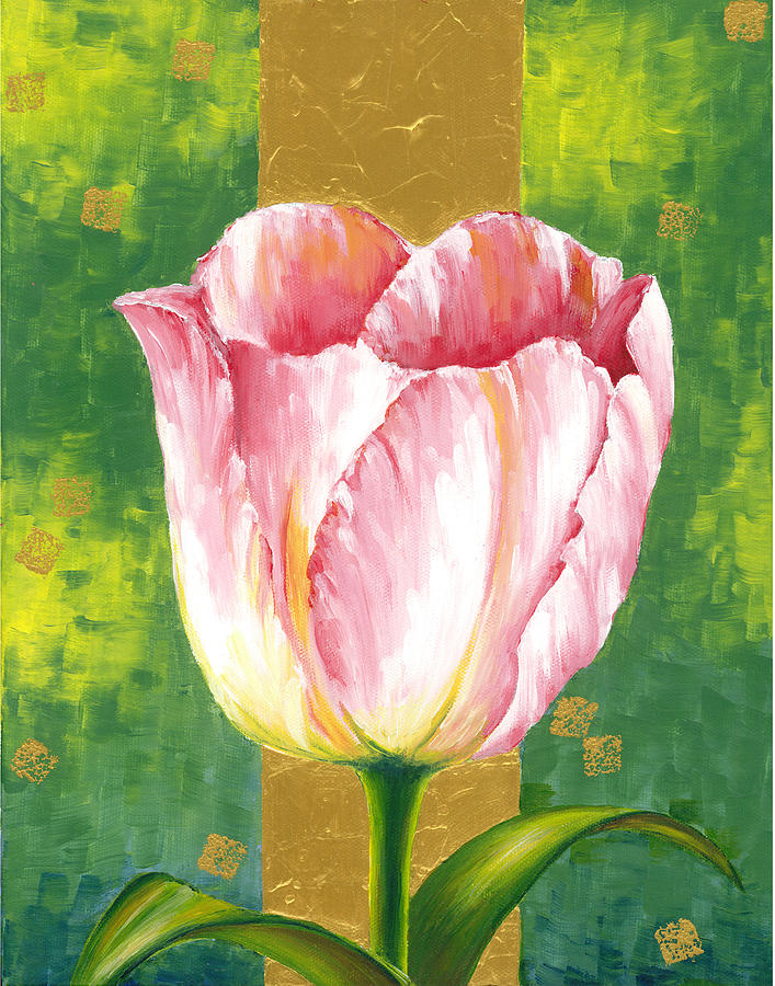 Tulip Painting - Tulip by Suntaree Nujai