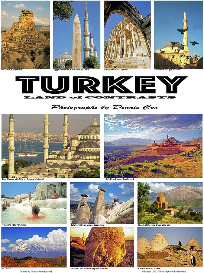 Turkey Poster Photograph