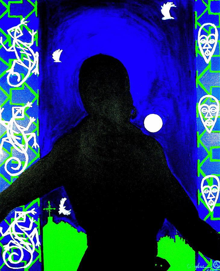 Malik Seneferu Painting - Uhuru Series by Malik Seneferu