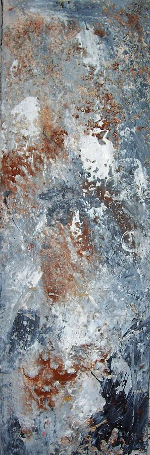 Texture Wood Painting - Untitled by Elizabeth Klecker