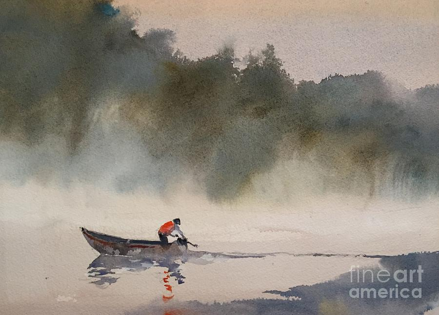 Watercolor Painting - Untitled by John Byram