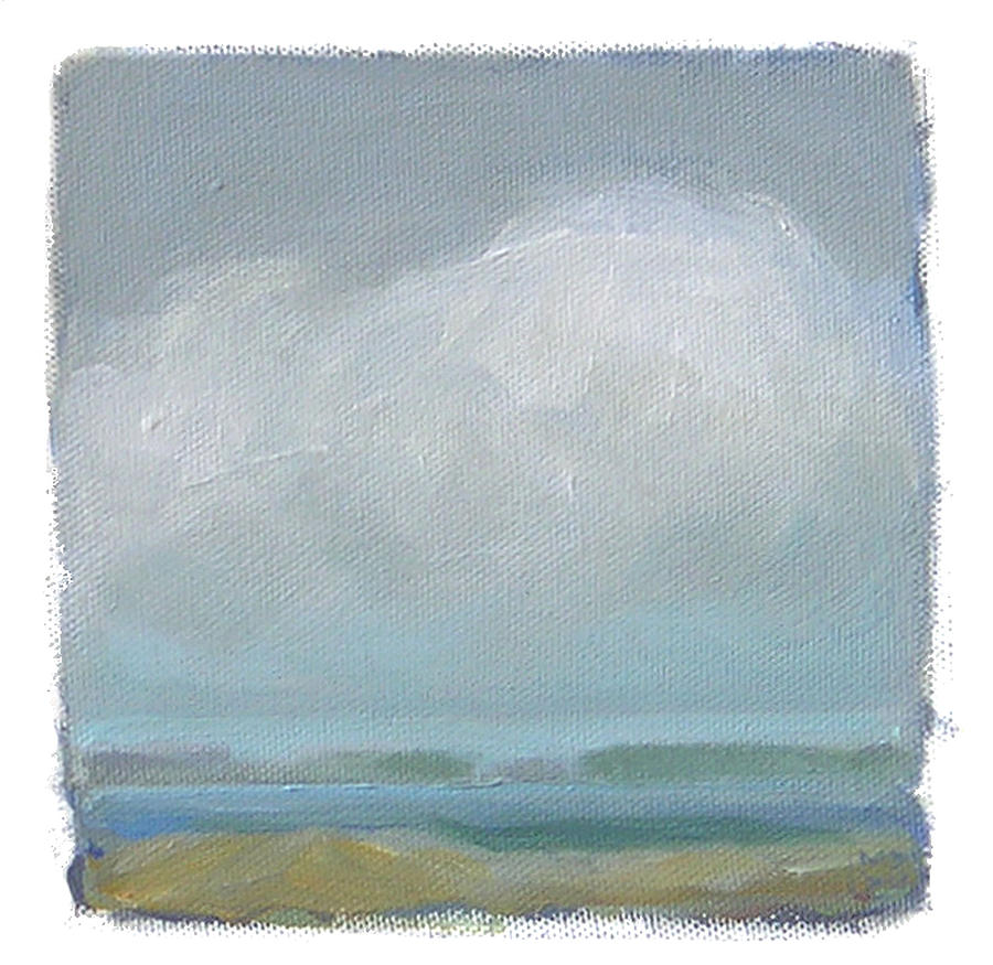 Landscape Painting - Untitled by Mary Brooking
