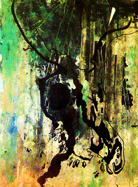 Deer Mixed Media - Untitled by Olivia Lewandowski