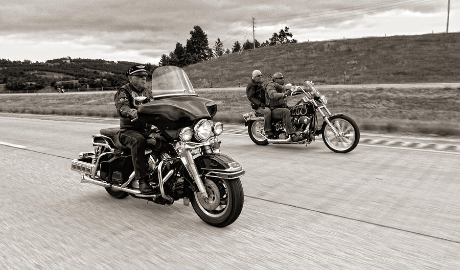 Motorcycles Photograph - Untitled by Sara Young