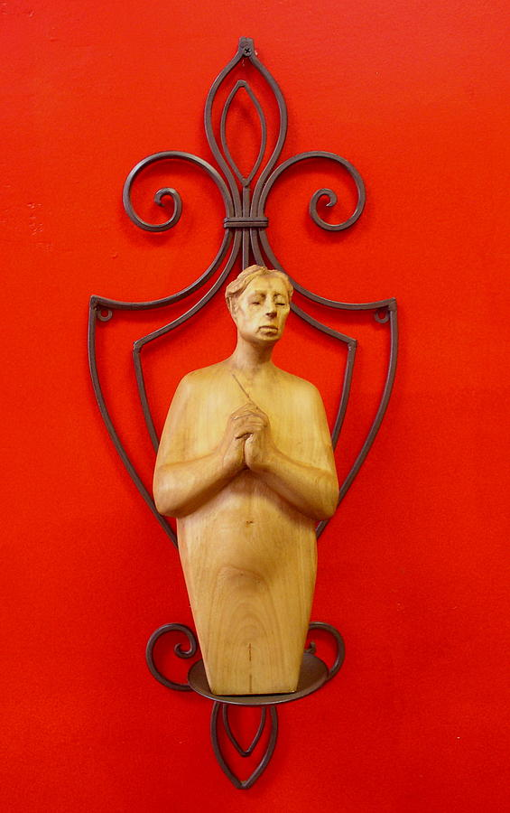 Figure Sculpture - Untitled 2 by Victor Amor
