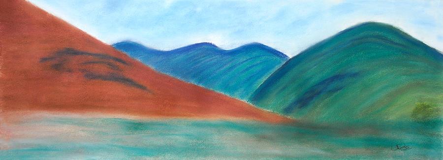 Landscape Painting - Untittled Landscape by Prasad Setty