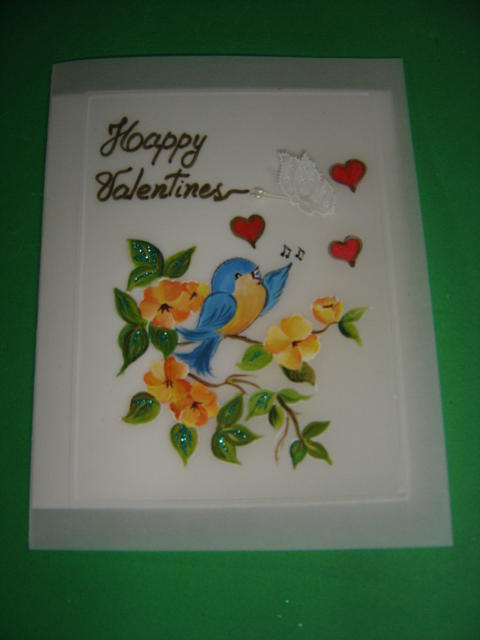 Valentines Day Cards Drawing by Carmen Aldana