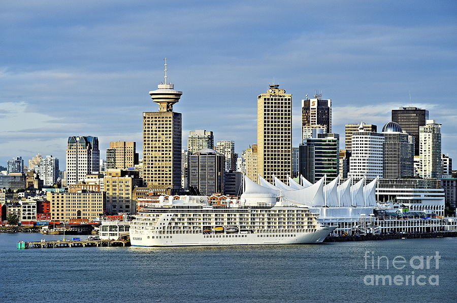Business Photograph - Vancouver Skyline by John Greim