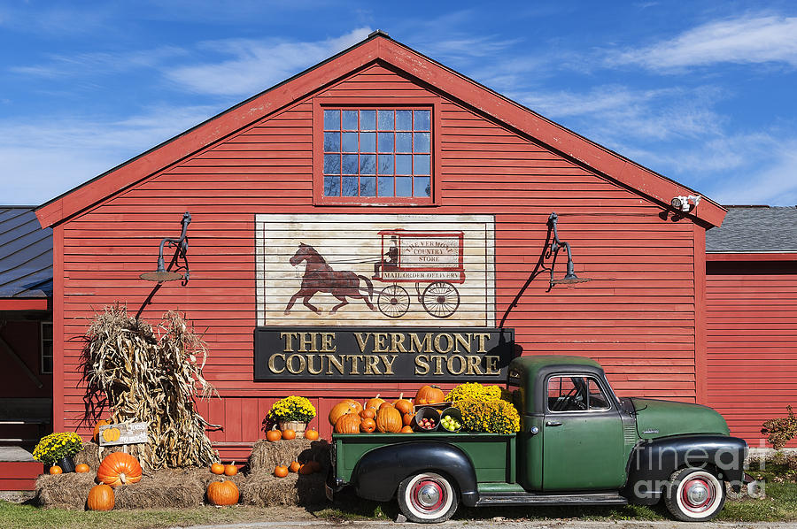 Americana Photograph - Vermont Country Store by John Greim